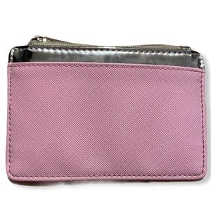 Crossi pink and silver small wallet